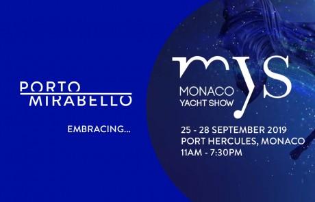Porto Mirabello al Monaco Yacht Show